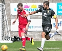 Rory Loy holds off the East Fife skipper 24