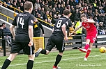 East Fife fans watch David Ferguson send over a cross 14