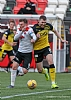 Ryan McGeever challenges David Goodwillie 23