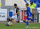 Rabin Omar races past Fraser Fyvie 5